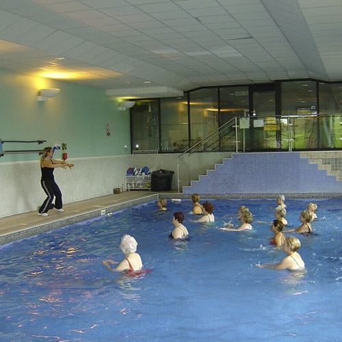Aqua aerobics cardiff