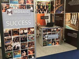 Mosaic's stand