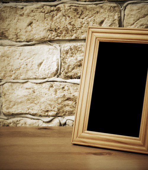 The Empty Photoframe