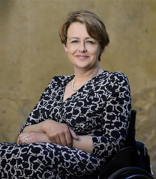 The Shrewsbury Club welcomes Dame Tanni Grey-Thompson