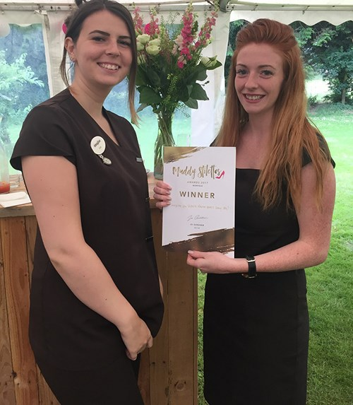 Imagine Spa Hethersett win 'Best Day Spa' at the Muddy Stilettos Awards for second year running!